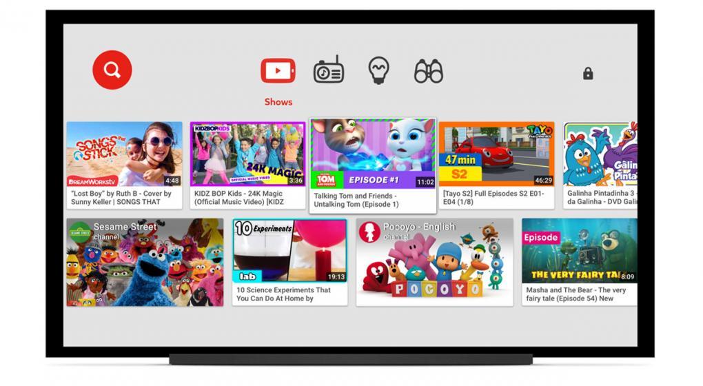 Caraota Digital: Youtube Kids estará disponible para televisores inteligentes