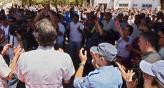 NEUQUÉN. La protesta de los policías (DyN).