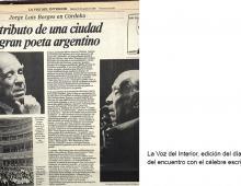 Borges en Córdoba
