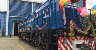 Las locomotoras chinas del Belgrano Cargas debutaron en el norte de Córdoba