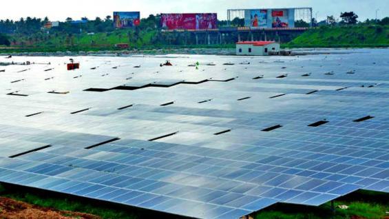 SISTEMA. 48.154 paneles fotovoltaicos producen cerca de 12 megavatios por día (Foto Grupo Edisur).