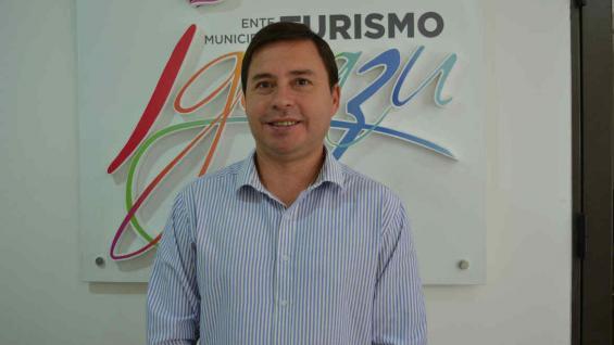 Leo Lucas, presidente del Iguazú Turismo Ente Municipal (Iturem).