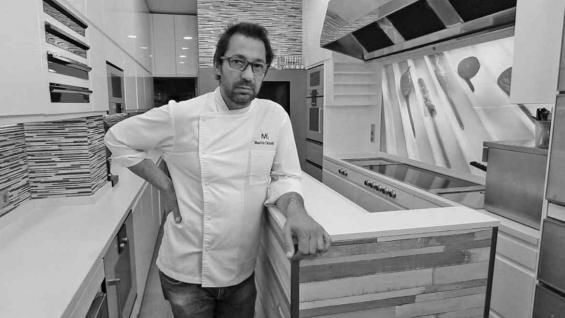 Mauricio Giovanini ganó una estrella Michelin, la forma de calificar a los restaurantes de acuerdo a la calidad, creatividad y cuidado de los platos que elaboran. (Messina)