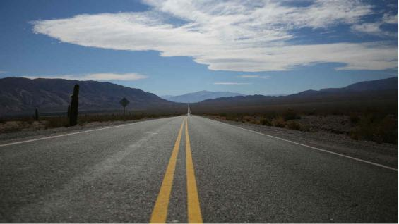 Hay que pasar por la recta del Tin Tin, 19 km en línea recta a 3.000 metros de altura. (Mario Cherrutti)