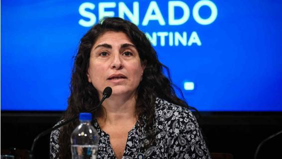 Ana María Ianni se mudó a El Calafate para hacer su examen como guía turística en 2001. Hoy es una de las legisladoras clave del distrito. (Senado de la Nación)