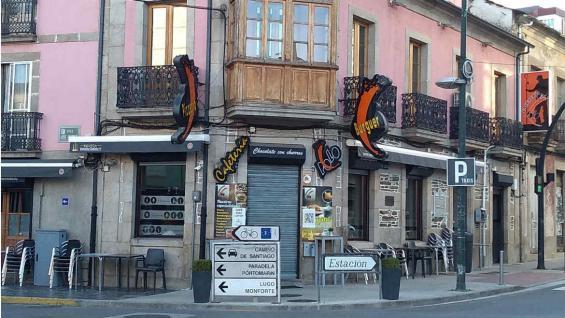 Sarria es el punto de partida de muchos caminantes y el último tramo del camino francés. (Mariana Otero)