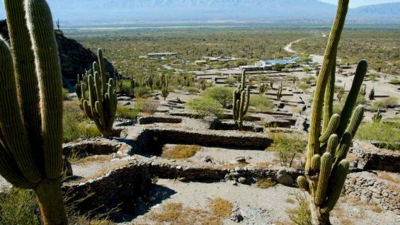 Las ruinas de Quilmes pertenecieron a los indios calchaquíes, que se ubicaron sobre las laderas de esas sierras y sobre el cordón montañoso llamado Calchaquí. (123RF)