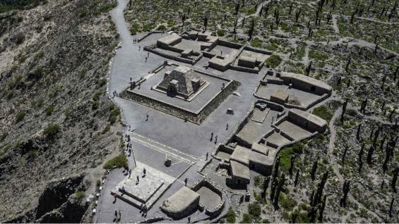 El Pucará de Tilcara es un sitio arqueológico formado por numerosas construcciones realizadas por los indígenas tilcaras. (123RF)