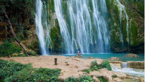 Samaná, otro de los elegidos para visitar en esta parte del Caribe. (Rhina Olivares, directora de la Oficina de Turismo de República Dominicana para Argentina. (Ministerio de Turismo de República Dominicana)