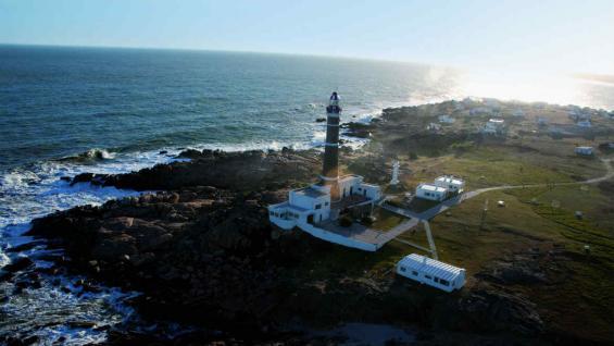 El faro de Cabo Polonio. (Ministerio de Turismo de Uruguay)