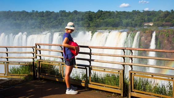 Las Cataratas del Iguazú. Foto 123RF.
