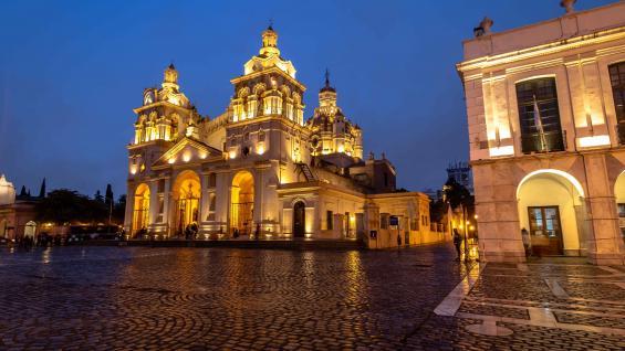 La Catedral, en el corazón de Córdoba Capital. Foto 123RF