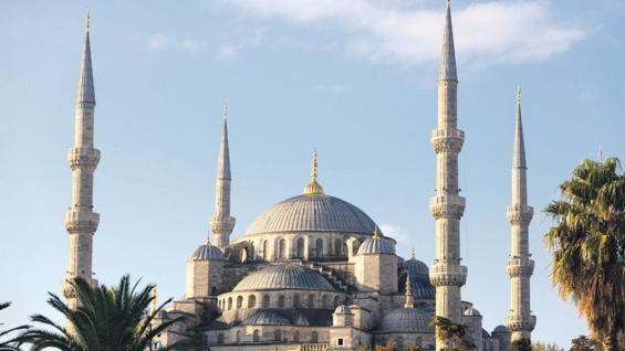Mezquita Azul (123RF).
