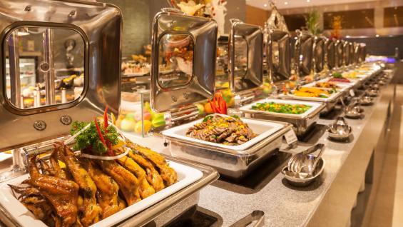 Una costumbre que se perderá: el desayuno buffet. Foto: 123RF