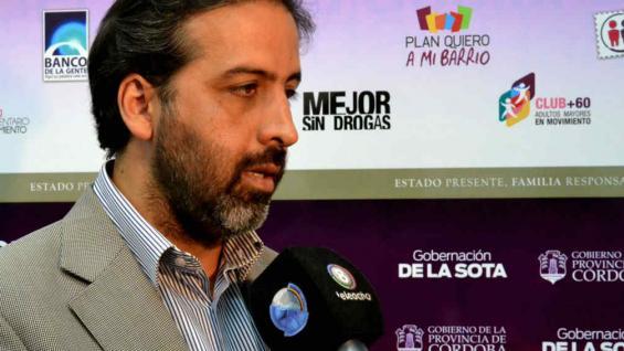 MARTÍN. El titular de la Senaf (Gentileza Ministerio Desarrollo Social).