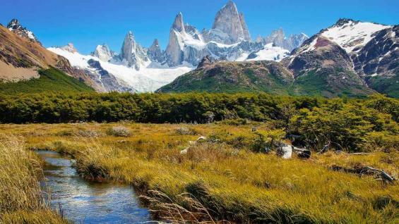 El sur argentino, atractivo en todas las estaciones del año. (123RF)