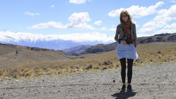 Uno de los lugares preferidos de la escritora en Argentina: Mendoza.