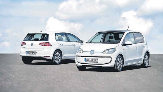 """Volkswagen e-Golf y e-Up!: con """"e"""" de eléctricos"""