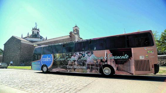 El Bus Turístico visita dos de las estancias jesuíticas declaradas Patrimonio de la Humanidad.
