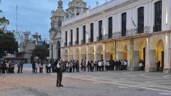 Desde 1588, la casa de gobierno fue el Cabildo.