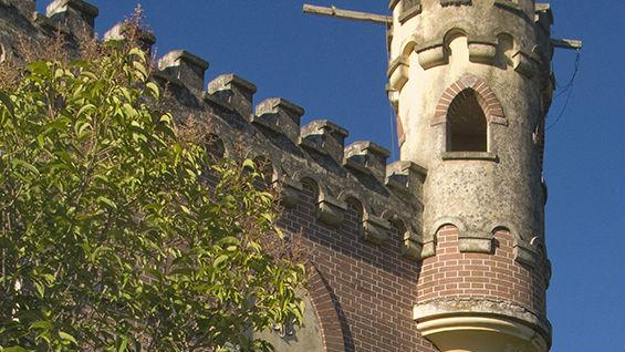El Castillo. Este curioso hotel se encuentra en Valle Hermoso.