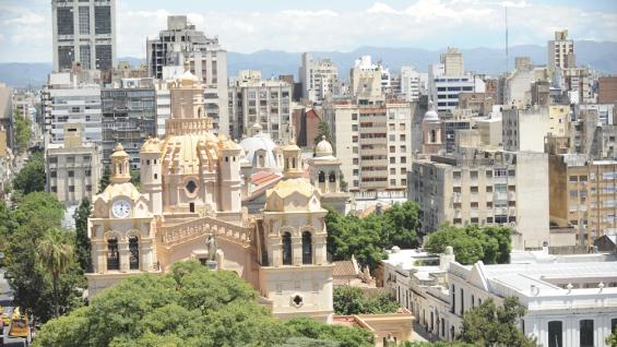 Las obras de la iglesia Catedral se iniciaron en 1574 y culminaron 200 años después.