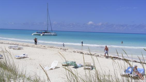 El encanto de las playas cubanas: Cayo Guillermo. Foto: Wikipedia.
