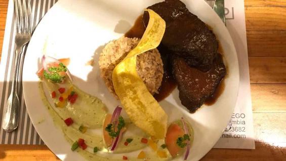 En cada uno de los platos está la impronta de destacados chef de Colombia. (Fundación Acción Interna)