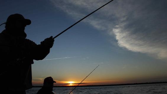 Pesca, una de las actividades para realizar en la naturaleza más pura. (Secretaría de Turismo de Santa Fe)