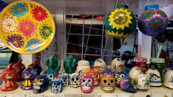 La cerámica, una de las principales artesanías mejicanas. (Amelia Corazza)