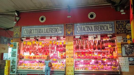 El interior del tradicional mercado de Triana. (Juan Carlos Lopresti)