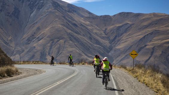 Para aventurarse en esta travesía, sólo hace falta saber andar en bicicleta. (Mario Cherrutti)