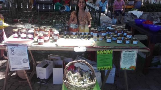 Selva, una productora regional de la zona que está en la feria desde sus inicios. (Marina Perassi)