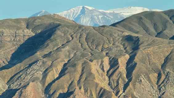 Vista del Nevado de Cachi desde Payogasta. (123RF)