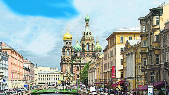 La avenida Nevsky y el canal Griboedova. (Mario Cherrutti)