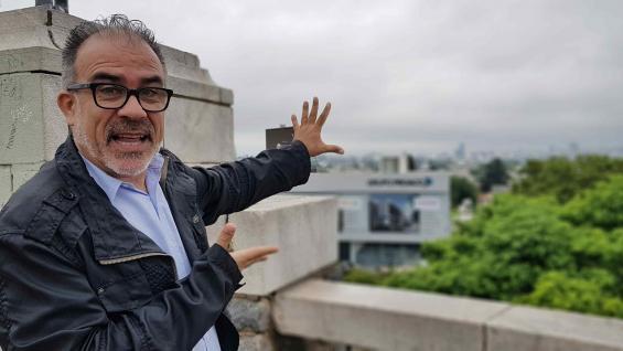 Pablo del Campo, un enamorado de los paisajes de Córdoba.