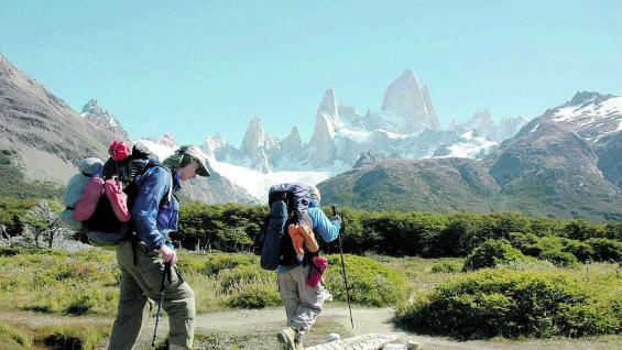 El Chaltén, una joven villa patagónica en la provincia de Santa Cruz.