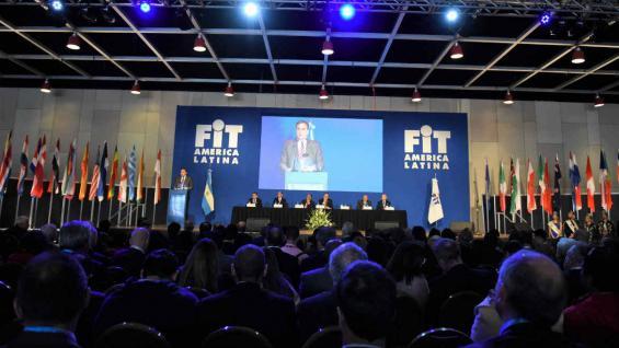 Gustavo Hani, presidente de Faevit, destacó el crecimiento de la FIT respecto del año pasado. (Prensa Faevyt)