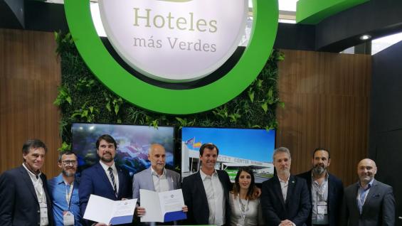 Córdoba firmó un convenio para seguir trabajando en sustentabilidad hotelera. (Prensa Faevyt)