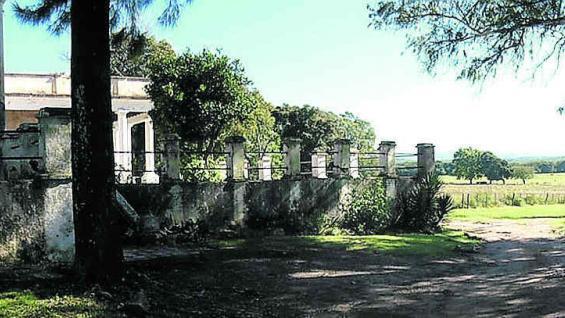 Estancia La Verde, al estilo de las villas renacentistas.