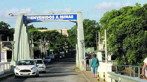 Ingreso a la ciudad de Minas. (Fotografía gentileza Mario Cherrutti)