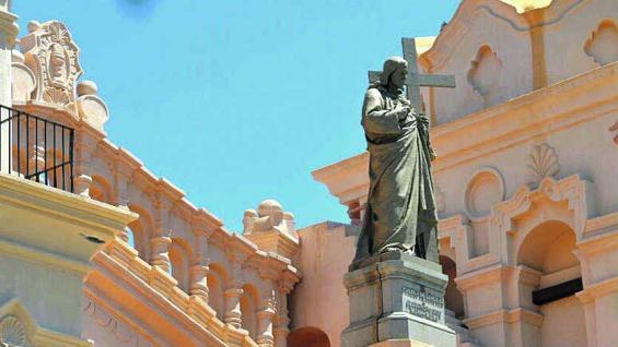 Catedral de Córdoba, con un agradable estilo ecléctico.