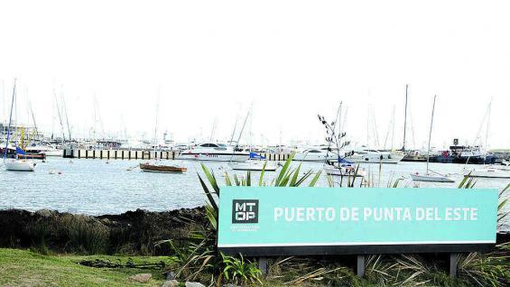 Terminal portuaria de Punta del Este.