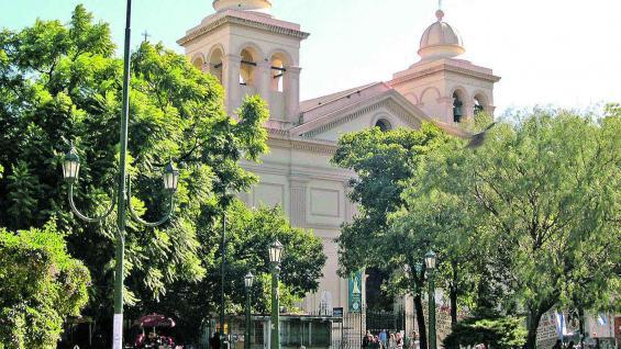 Iglesia Santa Catalina, escala obligatoria del circuito.