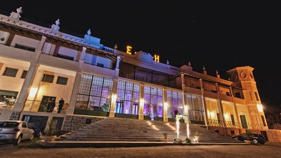 Hotel Edén. El Museo Comechingón y el Jardín Botánico de Cactus están a kilómetros de la rotonda de acceso.