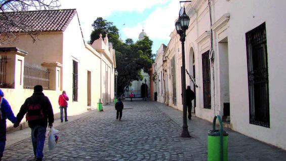 Pasaje Santa Catalina, entre cuyos muros se atesora mucha historia.