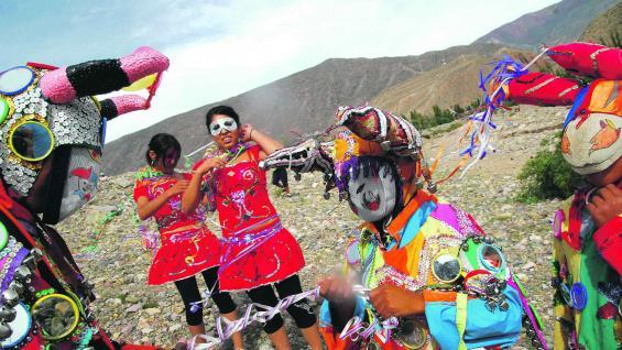 Tilcara, Jujuy, mezcla de rituales ancestrales con la influencia de los colonizadores españoles.