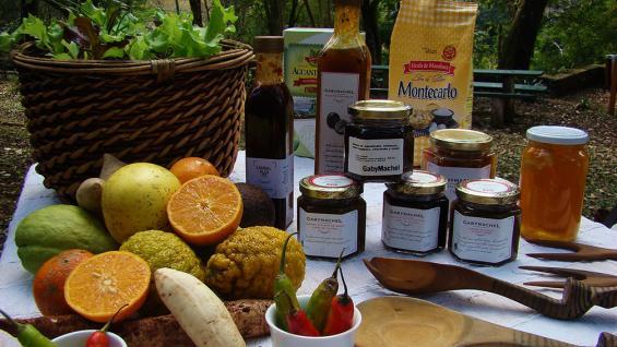 Sabores misioneros. Un verdadero picnic gourmet en complejo Gruta India.