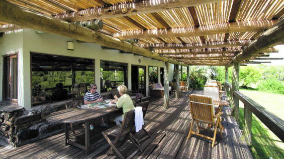 Restaurante en Valle Hilo de la Vida, un lugar con mucha energía y meca espiritual. (Fotografía gentileza Mario Cherrutti)