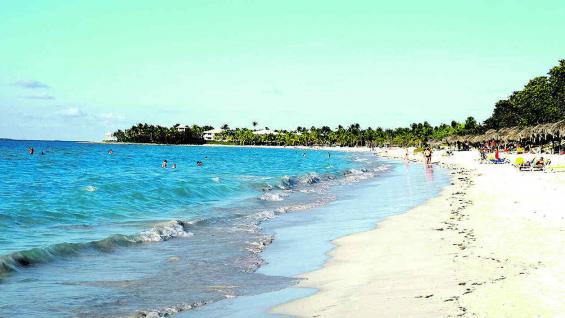 Varadero, con sus 20 kilómetros de playa, un clásico de Cuba.